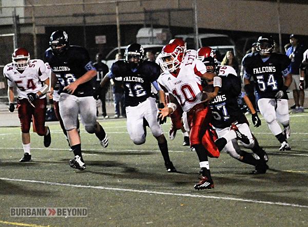 Burroughs Football vs. Crescenta Valley 2012-3459