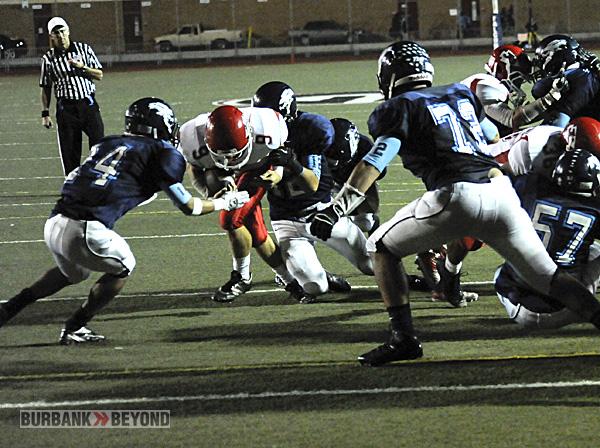 Burroughs Football vs. Crescenta Valley 2012-3473