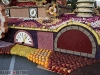 The Winning Burbank Rose Float is on display till Sunday evening.  (Ross A. Benson)