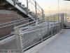 New Handicap ramps are all in place at the Burroughs Stadium.  (Photo by Ross A. Benson)