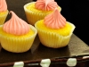 Lemon mini cupcakes.... Delish!