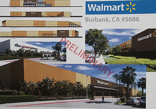 Walmart Burbank Rendering