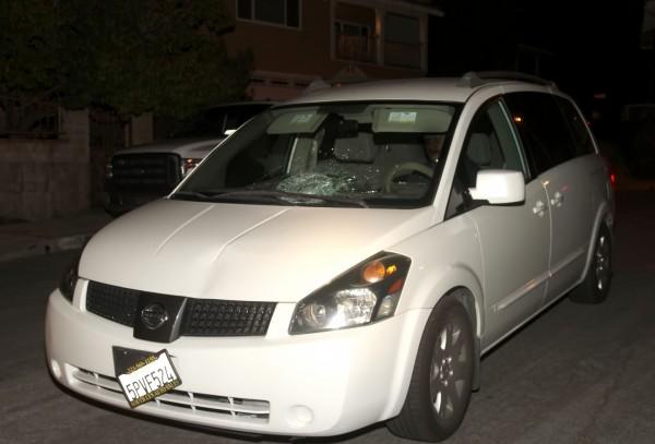 Nissan Minivan Hit and Run Vehicle