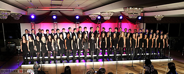 Burbank Students preform at 'Night of Magic'    (Photo By Ross A, Benson)