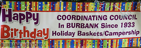 Burbank Coordinating Council held their 79th Birthday event during this weeks meeting. (Photo by Ross A. Benson)