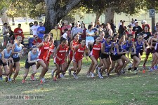 It's off to the races for the Burroughs and Burbank cross country teams (Photo by Craig L.Sherwood)