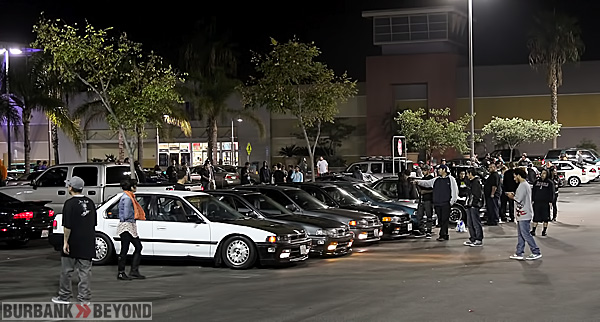 Thousands of car enthusiasts invade The Empire Center again, during a car nite. (Photo by Ross A. Benson)