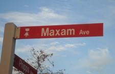Larry Maxam Ave.