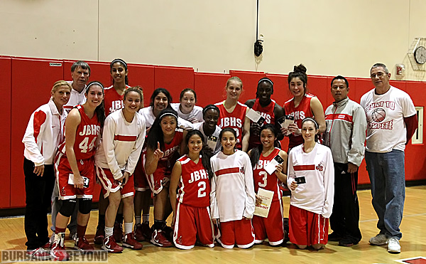 Burroughs Indians, 2013 Pacific League Champions (Photo by Ross A. Benson)