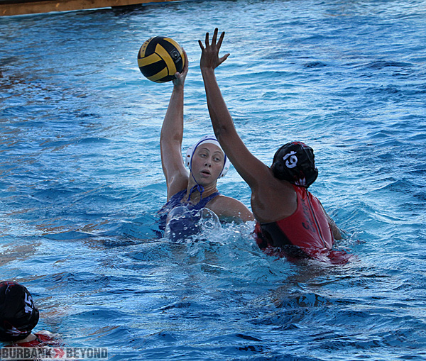 Burbank girls water polo (Photo by Ross A. Benson)