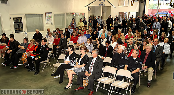 Standing room crowd attends Chief Lenahan's Change of Command Ceremony( Photo by Ross A. Benson)