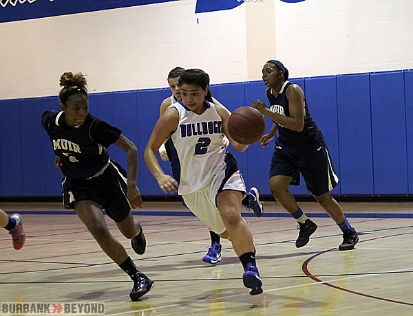 Burbank girls basketball (Photo by Ross A. Benson)