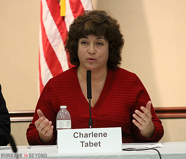 Candidate Charlene Tabet. (Photo by Ross A. Benson)
