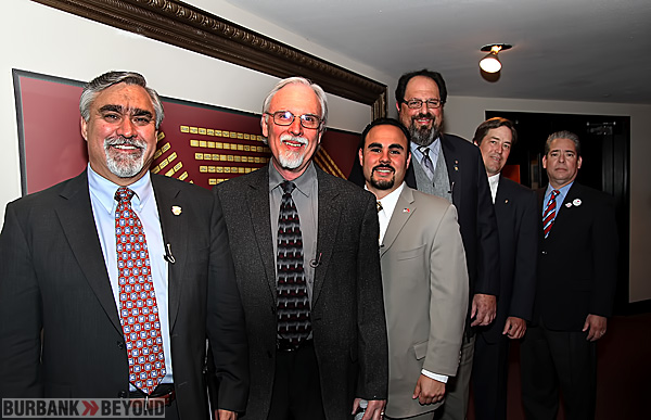 Candidates running for Burbank City Council. (Photo by Ross A. Benson)