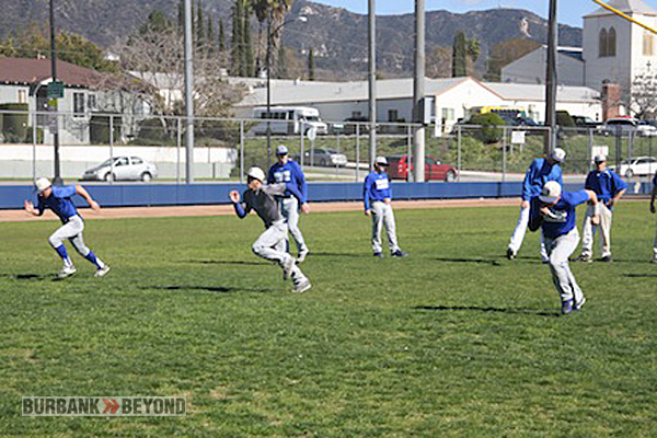Burbank is preparing for a sprint to a league title (Photo by Dick Dornan)