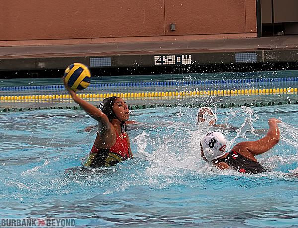 Burroughs water polo action (Photo by Ross A. Benson)