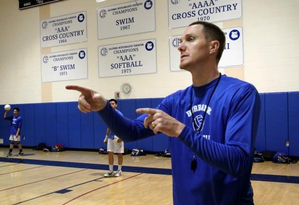 Coach Patrick McMenamin