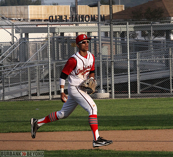 Burroughs baseball (Photo  by Ross A. Benson)