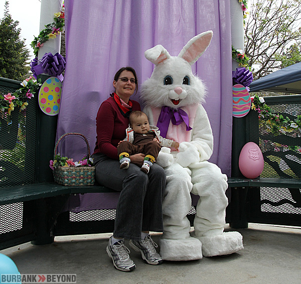 The Easter Bunny will return to Burbank this year after a decision by Burbank City Council to hold the Spring Egg-Stravaganza.(Photo by Ross A. Benson)