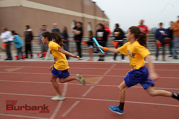 Jordan's girls relay team (Photo by Ross A. Benson)