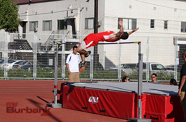 Burroughs track and field (Photo by Ross A. Benson)