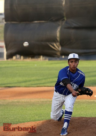 Burbank's Angel Villagran (Photo by Ross A. Benson)