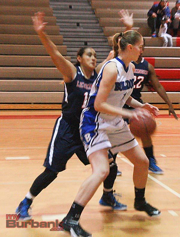 Anastasia Tsybaeva scored 17 points (Photo by Dick Dornan)