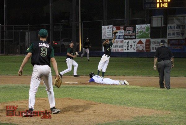 Burbank baseball (Photo by Ross A. Benson)