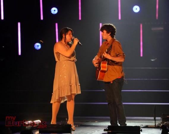 Megan Delbarian and Matt Hiett preform Rising Sun. (Photo by Ross A. Benson)