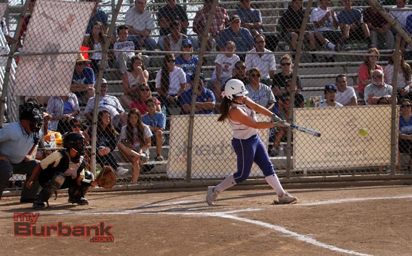 The Bulldogs tallied 13 hits in the game (Photo by Ross A. Benson)
