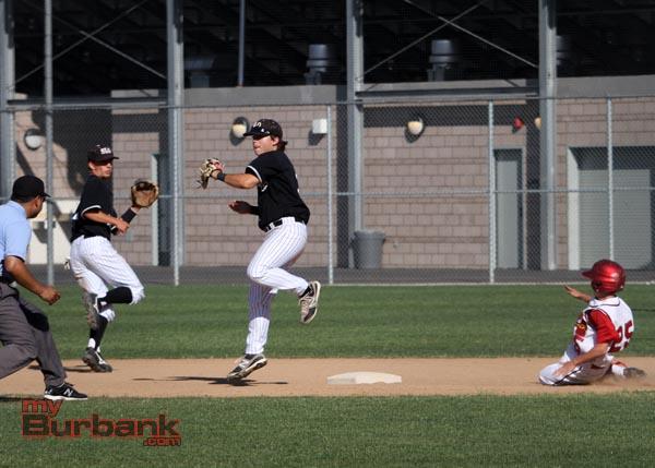 Burroughs baseball (Photo by Ross A. Benson)