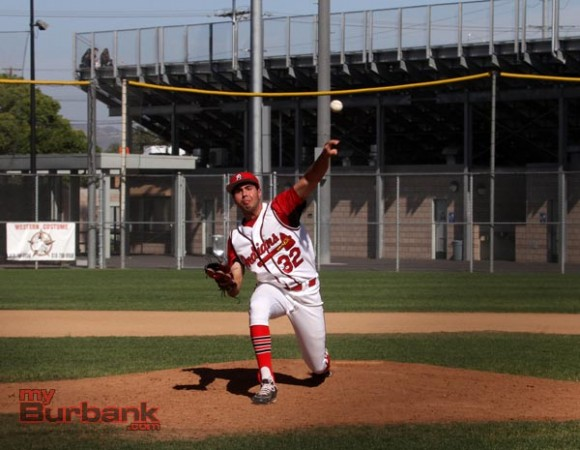 Daniel Barraza threw a solid six innings (Photo by Ross A. Benson)