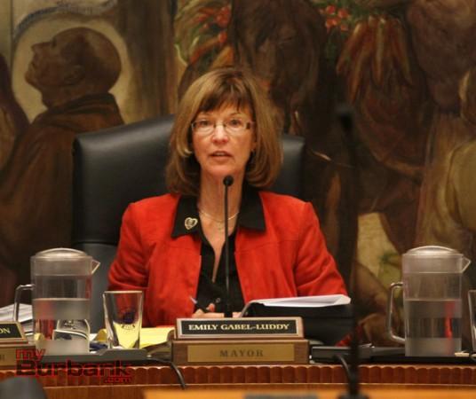 Mayor Emily Gabal-Luddy. (Photo by Ross A. Benson)