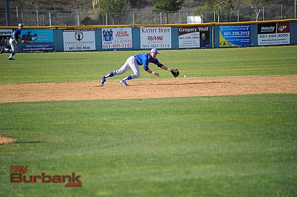 Dylan Mersola was a four-year starter for the Bulldogs (Photo courtesy of Burbank Baseball)