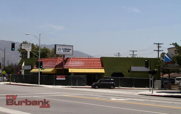 Location of the old Theresa's Family Restaurant, where new Starbucks is locating. (Photo by Ross A. Benson)