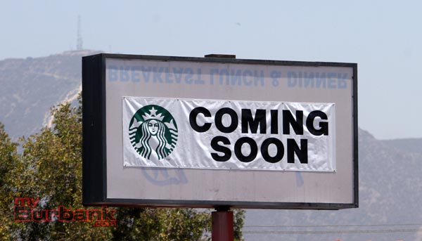 Coming Soon on overhead sign. (Photo by Ross A. Benson)