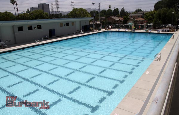 The Verdugo Park Pool will open on June 8. (Photo by Ross A. Benson)