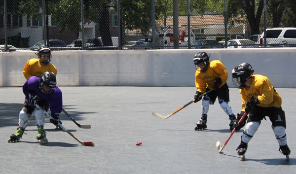 All games are held at the Burbank Roller Hockey Rink at Ralph Foy Park (Photo courtesy of Frank Dalessandro)