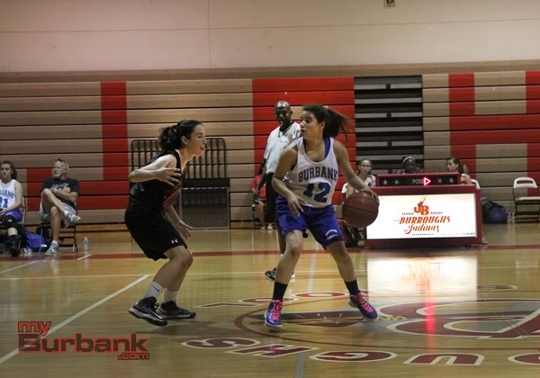 Burbank girls basketball (Photo by Ross A. Benson)