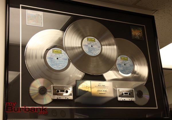 Sha Na Na platinum records (Photo by Ross A. Benson)