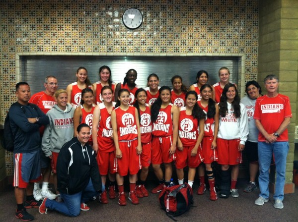 Burroughs Indians: champions of the SLO Summer Classic (Photo courtesy of Vicky Oganyan)