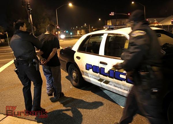 DUI Arrest Victory & Burbank -1