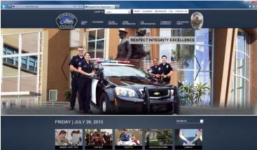 Police Launch Website 07262013