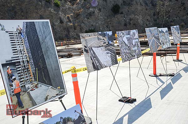 Progress of the projects were shown to the residents during the open house (Photo By Craig Sherwood)