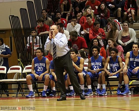Burbank coach Jerry DeLaurie