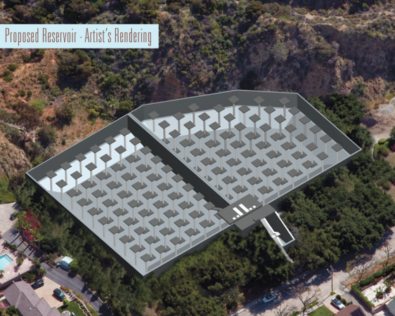 View shows the design of the two structures in one  (City of Burbank)