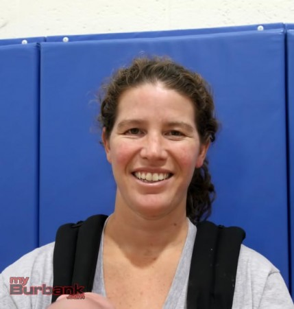 Burbank coach Sarah Brown (Photo by Ross A. Benson)