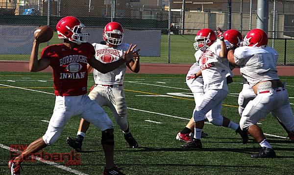 Andrew Williams returns at quarterback (Photo by Dick Dornan)