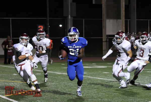 James Williams ran for a touchdown and caught one as well (Photo by Ross A. Benson)