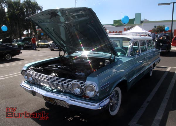 This 1963 Chevrolet BelAire won The Dealers Choice Award and The Shows First Place Award. Owned by Rene Gomez. (Photo by Ross A. Benson)